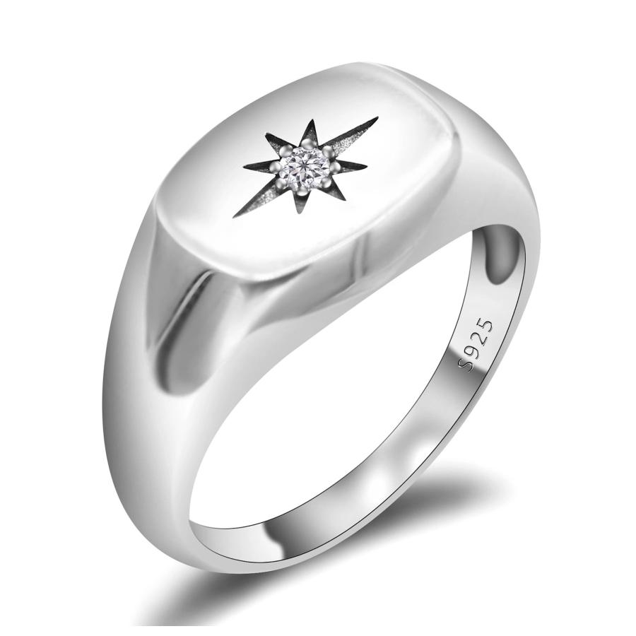 Anello in argento 925 Chevalier con...