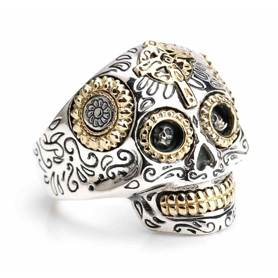 Anello in argento 925 Teschio...