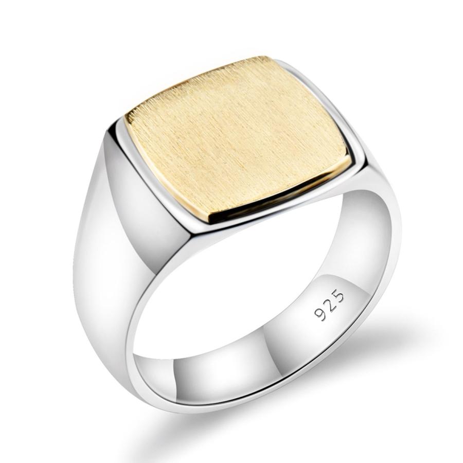 anello chevalier argento 925 uomo oro