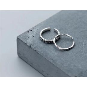Anello regolabile in argento 925 donna