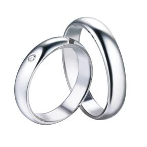 fedine fidanzamento coppia argento 925 inciisone