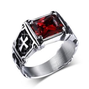 anello con pietra uomo