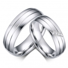 fedine fidanzamento acciaio